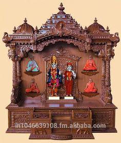 Wooden Pooja Mandir Temple Design For Home , Find Complete Details about Wooden Pooja Mandir Temple Design For Home,Wooden Temple Design For Home,Pooja Mandir For Sale,Wooden Pooja Mandir from Carving Crafts Supplier or Manufacturer-M A ENTERPRISE