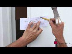 Installing a Fib-R-Lite or Fib-R-Dor Door from Chase Doors