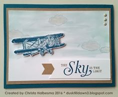 Christa Halbesma dusktilldawn3.blogspot.com Stampin' Up! SAB 2016 Sale-A-Bration Sky Is The Limit
