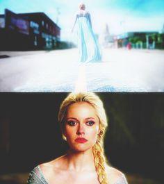 Georgina Haig - Elsa - Once Upon a Time #OUAT #Frozen