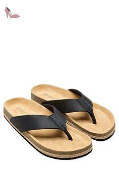next Homme Tongs En Jute Standard Noir EU 47 - Chaussures next (*Partner-Link)