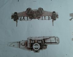 Update 2! New Concept Art Featuring Ship Designs and a Costume from the Han Solo Movie Have Surfaced on eBay! | Star Wars News Net