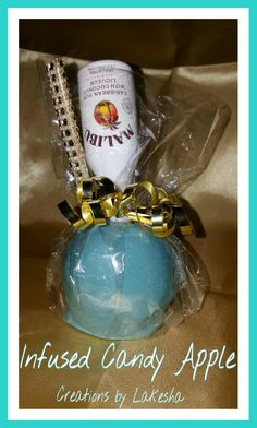 Drunken Apple Creations by Lakesha Liquor Candy, Alcohol Candy, Liquor Drinks, Beverages, Candy Apple Bars, Gourmet Caramel Apples, Chocolate Covered Apples, Adult Birthday Cakes, Party Drinks