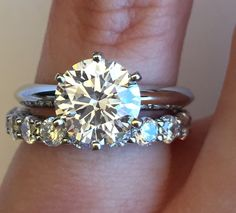 6 prong solitaire w/ wedding band… Help! - Weddingbee