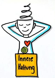 Innere Haltung visualisieren  www.doris-reich.com