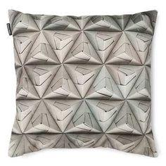Coussin Geogami Gris - Snurk en vente sur konceptdesign.fr, découvrez nos Coussins design à petit prix pour aménager votre intérieur