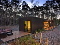 Modscape modular homes, prefab homes, and transportable homes in NSW, Victoria, & Australia Affordable Prefab Homes, Prefab Modular Homes, Prefab Cabins, Modular Housing, Cabin Design, Modern House Design, Prefab Buildings, Building Systems, Kabine