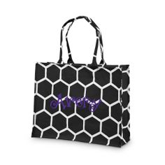 The Bee Line Canvas Tote - Perfectly Personalized Monograms - stylish gifts for everyone on your list!