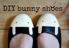 jewelry &stuff by one creative bunny: DIY bunny flats