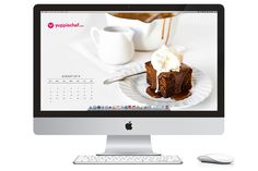 Sticky toffee on your screen? Here's August's free wallpaper.
