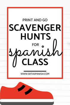 ¡Corre en Círculos! - Get your students moving while they practice! - Srta Spanish