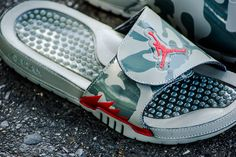 5bd14df6cdfd61 Air Jordan Hydro V Retro Slide  Dark Stucco Camo  - EU Kicks  Sneaker  Magazine