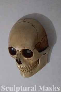 Skull Mask, Carnival Masks, Cosplay Ideas, Sculpture, Detail, Amazing, Artist, Cosplay Costumes, Mardi Gras Masks