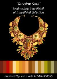 Eva Maria Keiser Designs: Colorway: Irina Oleinik