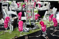 quinceanera decorations   Wedding Decorations Zebra Print : Wedding Decoration Ideas