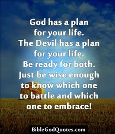 Biblegodquotescom God Has A Plan For Your Life The