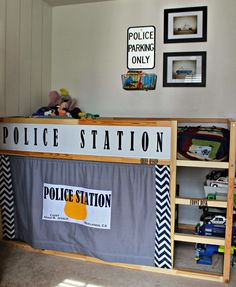 Kutz, Paper, Scissors: Police Station Loft Bed