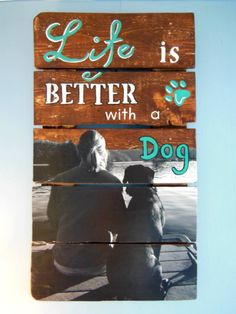 HYBRID PROJECT combines photo and hand painted sign! ANY photo, ours or yours, on any size reclaimed wood pallet. Whats not to love? Head over to our Facebook page simply by clicking on this photo to learn how you can get yours today!
