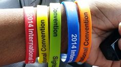 2014 International Convention Bracelets