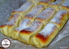 to 600 x 432 Hungarian Desserts, Hungarian Recipes, Creative Food, Hot Dog Buns, Cookie Recipes, Bread Recipes, Food And Drink, Yummy Food, Favorite Recipes