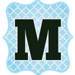 Blue_Black Letter_M