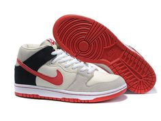 first rate 7af51 595ff Ryu Nike SB Dunk Mid Street Fighter Characters Inspied Suede Buff Black Red  Cartoon Shoes