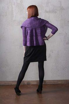 Ravelry: Disk Cardigan pattern by Heather Zoppetti knitwear f12