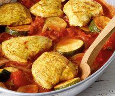 Low Carb Rezepte: Curryhähnchen aus dem Ofen
