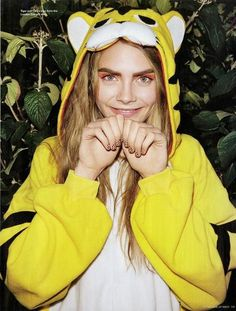 Cara Delevingne photographed by Angelo Pennetta for i-D, Winter 2012
