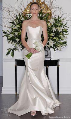 Fit And Flare Wedding Dress on Kleinfeld Bridal Romona Keveza Wedding Dresses, 2016 Wedding Dresses, Wedding Attire, Bridal Dresses, Wedding Gowns, Tulle Wedding, Women's Dresses, Fit And Flare Wedding Dress, One Shoulder Wedding Dress