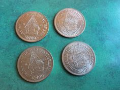 UNCIRCULATED Indonesia 100 Rupiah Coins Asia Asian