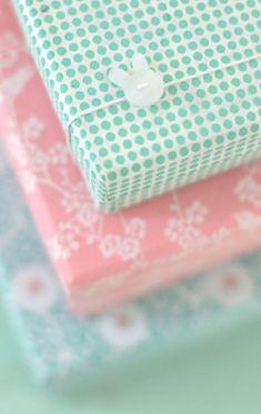 Polka dot and floral. Prints. Pink. Mint. Pastel.