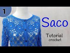 Como tejer un saco a crochet