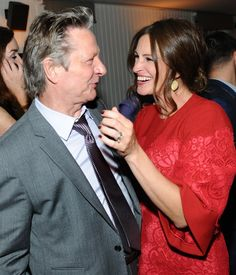 Julia Roberts and Chris Cooper at event of August: Osage County (lovely pic)