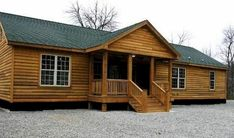 These homes do not have to look like boxcars or trailers. Image Search Results for manufactured home exteriors