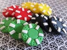 Items similar to 12 Fondant poker chips - Poker party/Las Vegas/Casino/gambling themed party, fondant playing cards, fondant dice, fondant roulette chips on Etsy Las Vegas Cake, Vegas Party, Casino Night Party, Casino Theme Parties, Party Themes, Vegas Casino, Vegas Theme, Poker Cake, Party Poker
