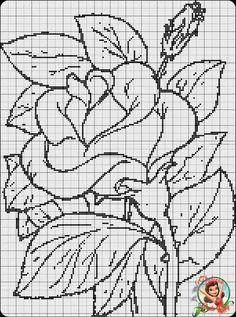 Cross Stitch Borders, Cross Stitch Rose, Cross Stitch Flowers, Cross Stitch Designs, Cross Stitching, Cross Stitch Patterns, Baby Embroidery, Cross Stitch Embroidery, Embroidery Patterns