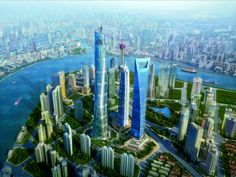 2012-05-04-archshang2.jpg Shanghai Tower, tallest in China at 2,073 ft. It is a vertical city.