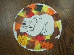 Animals In Winter Preschool Theme of 20 Bears Preschool, Fall Preschool, Preschool Projects, Daycare Crafts, Preschool Activities, Preschool Learning, Book Activities, Animals That Hibernate, Winter Thema