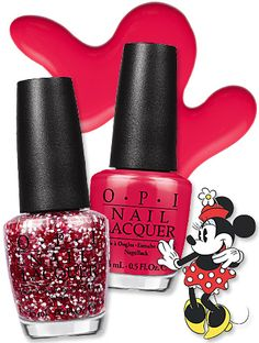 "OPI is putting the ""cute"" in ""cuticle"" by giving Minnie Mouse a second nail polish collection! We got a sneak peek at the entire line."
