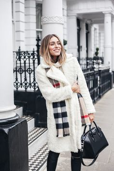 HOW TO STYLE SHEARLING/SHERPA THIS WINTER