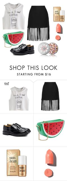 """""""Sin título #649"""" by malvinacabj on Polyvore featuring moda, Alexander Wang, Tricker's, PUR y Guerlain"""