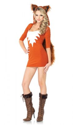 Fox Costume - Adult Costumes