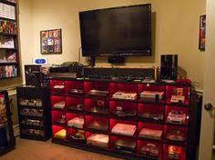 video game room setup - Google Search