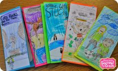 Step into 2nd Grade with Mrs. Lemons: A Week Without the Workroom! - Book Reports