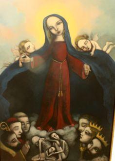 União das Misericórdias convidou 17 pintores a actualizar imagem que é ícone da instituição - PÚBLICO Evelina Oliveira