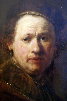 Rembrandt van Rijn, Selbstbildnis, um 1650 (self portrait, approx. Rembrandt Self Portrait, Rembrandt Paintings, Rembrandt Art, Leiden, Frida Kahlo Diego Rivera, Human Face Drawing, Amsterdam, Dutch Golden Age, Dutch Painters