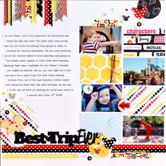 Best Trip Ever - Scrapbook.com - Made with the new and soon  to be available Queen and Company products.