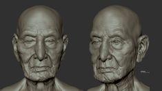 Study OldMan, ToTo Dost on ArtStation at https://www.artstation.com/artwork/PllNB