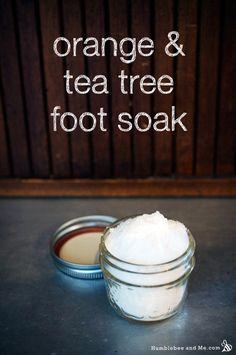 Orange & Tea Tree Foot Soak